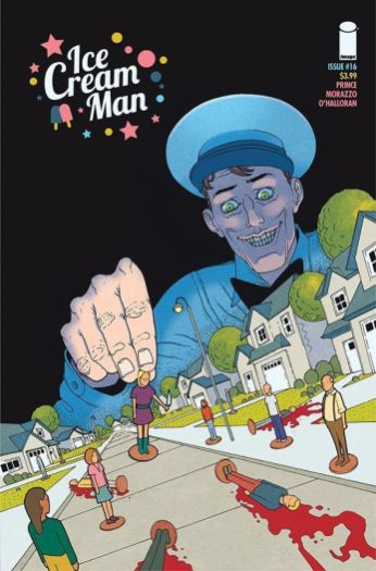 Image Comics Ice Cream Man #16 Cover A by Martin Morazzo