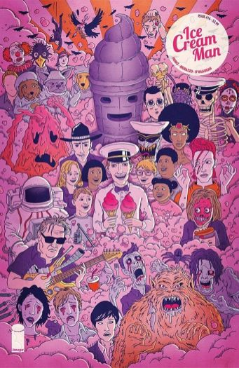 Image Comics Ice Cream Man #16 Cover B by Andrew Rae