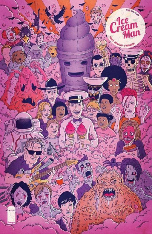 Image Comics Ice Cream Man #16 Cover B by Andrew Rae