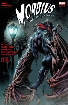 Marvel Morbius (2019) #1 Cover B by Kyle Hotz & Dan Brown