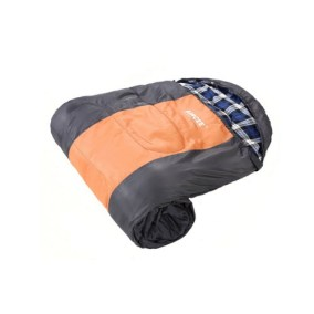 Camping Hooded Sleeping Bag With Pillow 1