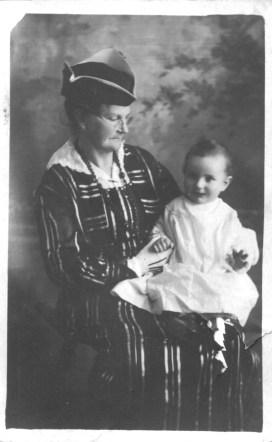 Grandma Guilford & grandchild Luke Peeples
