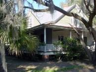 Graves House porch corner