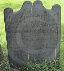 Thomas Stowell gravestone