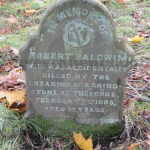 Robert Baldwin gravestone, Dalston