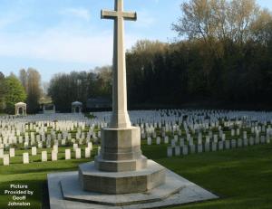 Coxyde Militay Cemetery, Belguim