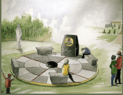 Army Apprentice memorial artists impression