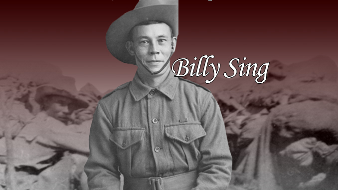 Billy Sing – Gallipoli sniper