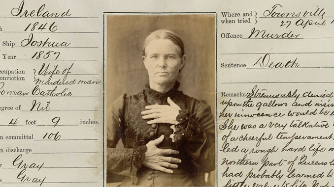 Ellen Thomson – Qld's only hanged woman