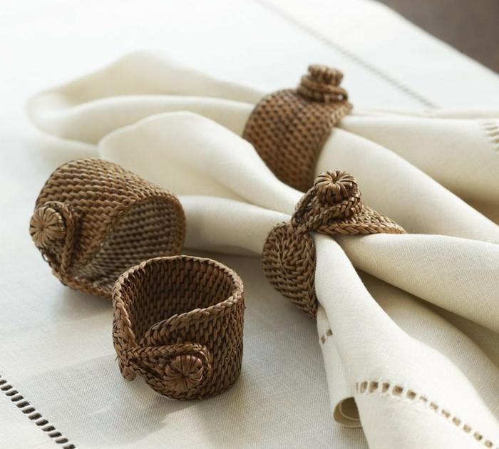 40 DIY Christmas Napkin Rings And Holder Ideas Youll Love