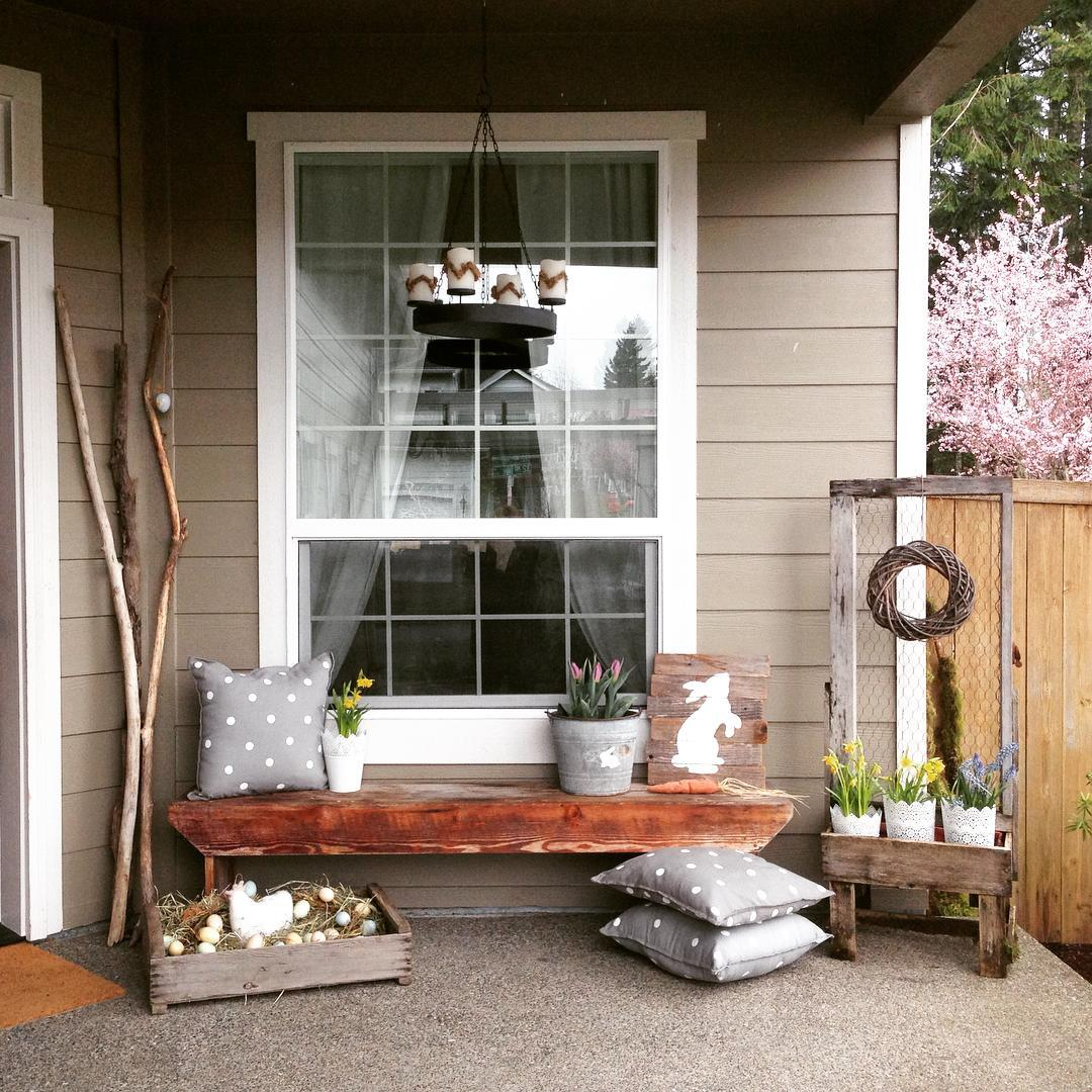35 Simple Easter Porch Decor Ideas That Youll Love
