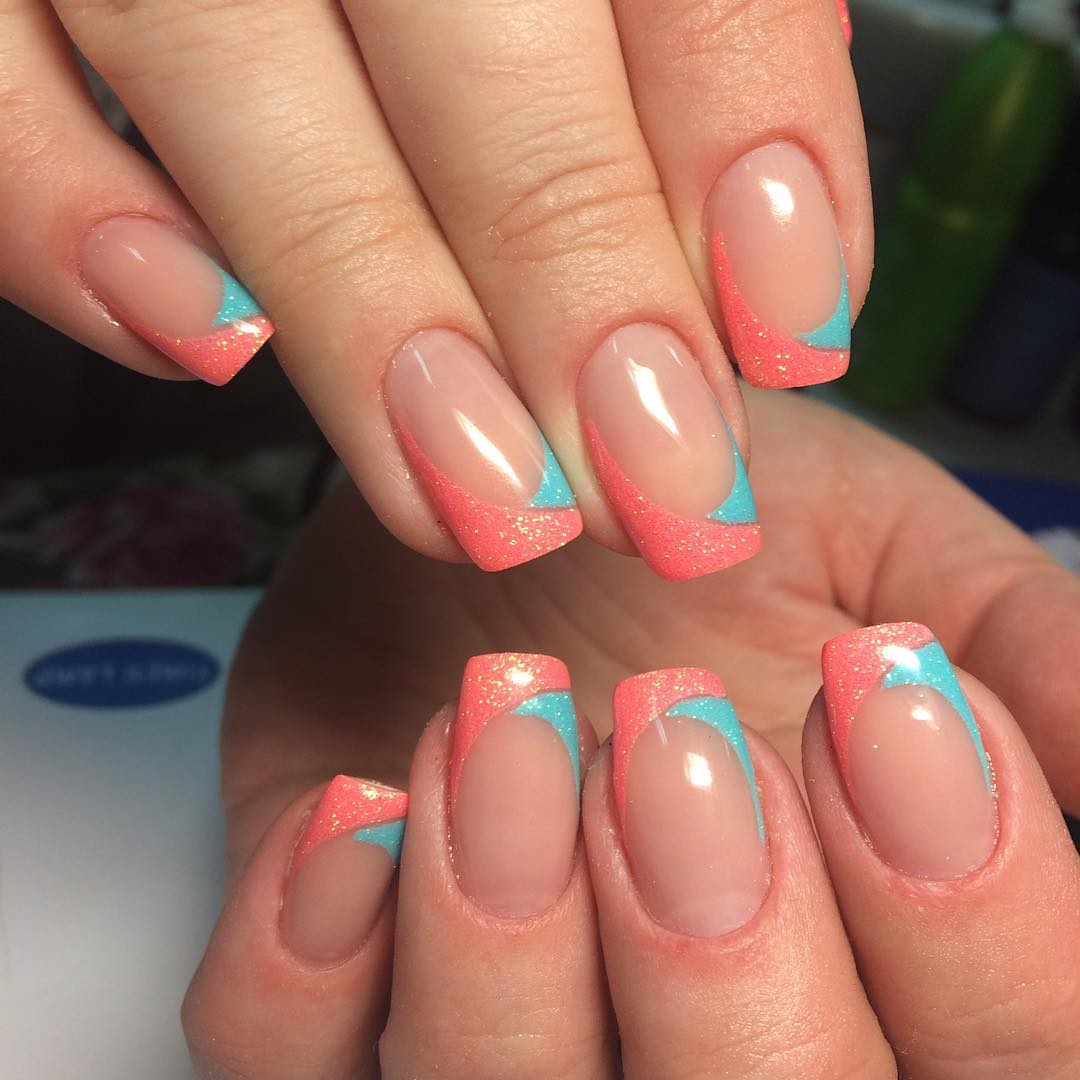 Nail Nails Nailart Naildesign Frenchmanicure Gel Gelnails
