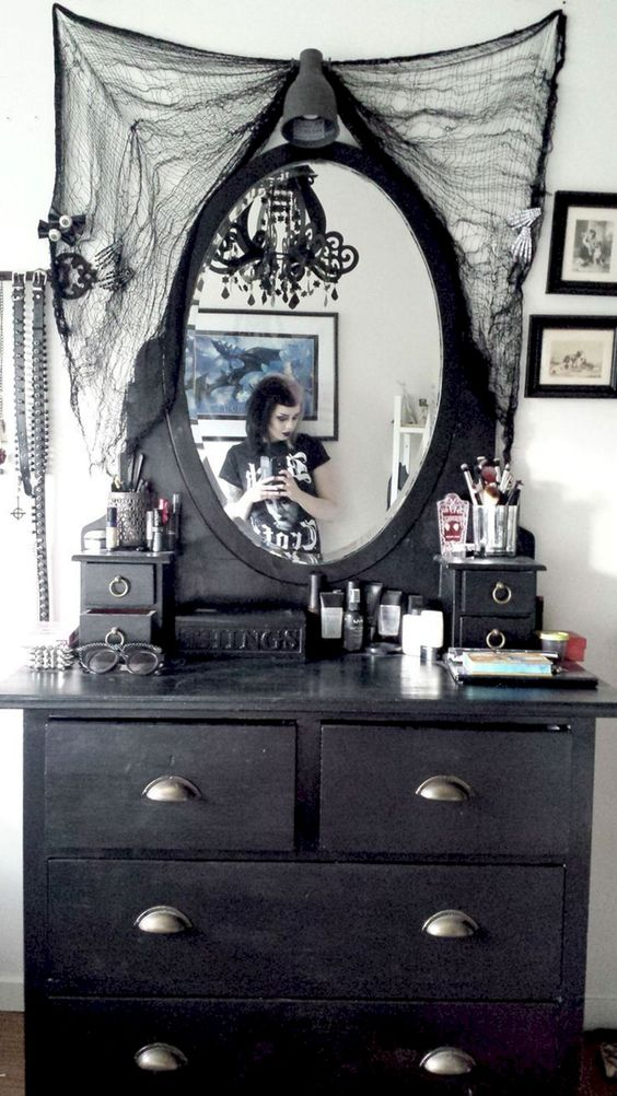 Make bedrooms in your home beautiful with bedroom decorating ideas from hgtv for bedding, bedroom décor, headboards, color schemes, and more. 36 Dramatic Home Gothic Décor Design Ideas that Reek of