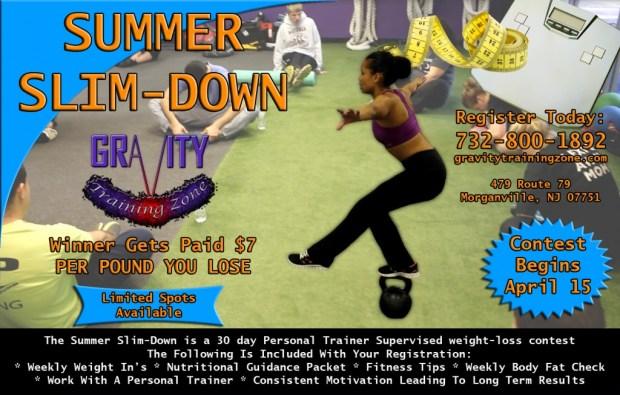 Summer Slim-Down Personal Training