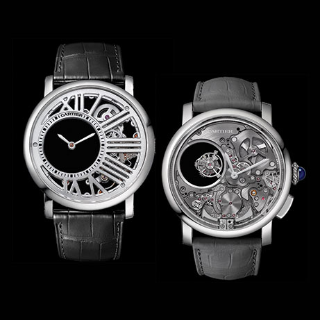 Pre SIHH 2017  A Pair of New Cartier Watches for Men   Gray   Sons