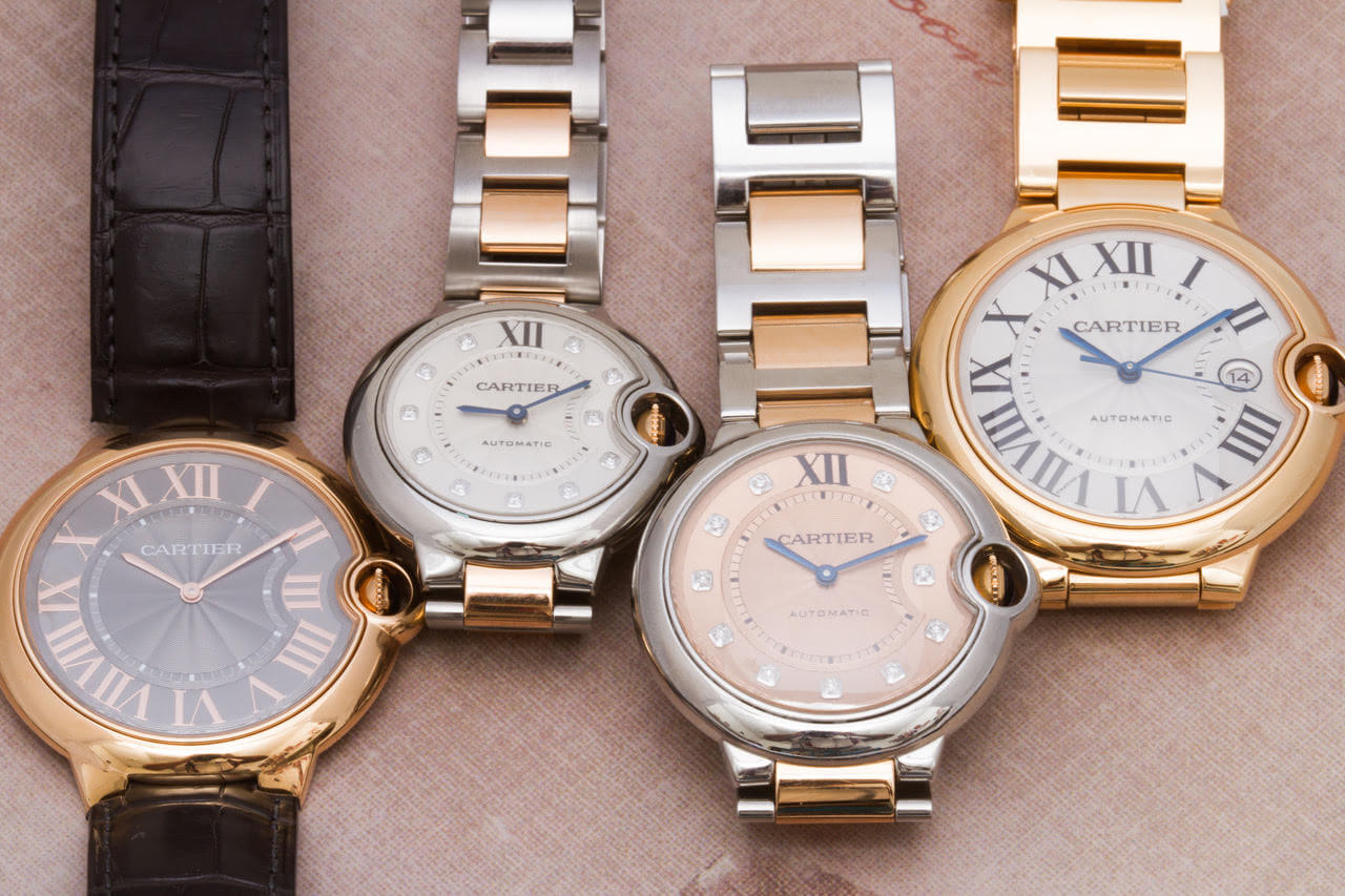 Five of Our Favorite Cartier Watches for Men   Gray   Sons Ballon Bleu Cartier watches for men