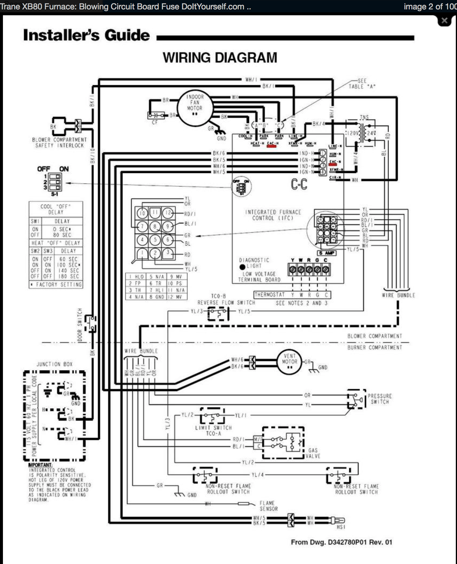 35 Trane Air Conditioners Wiring Diagram