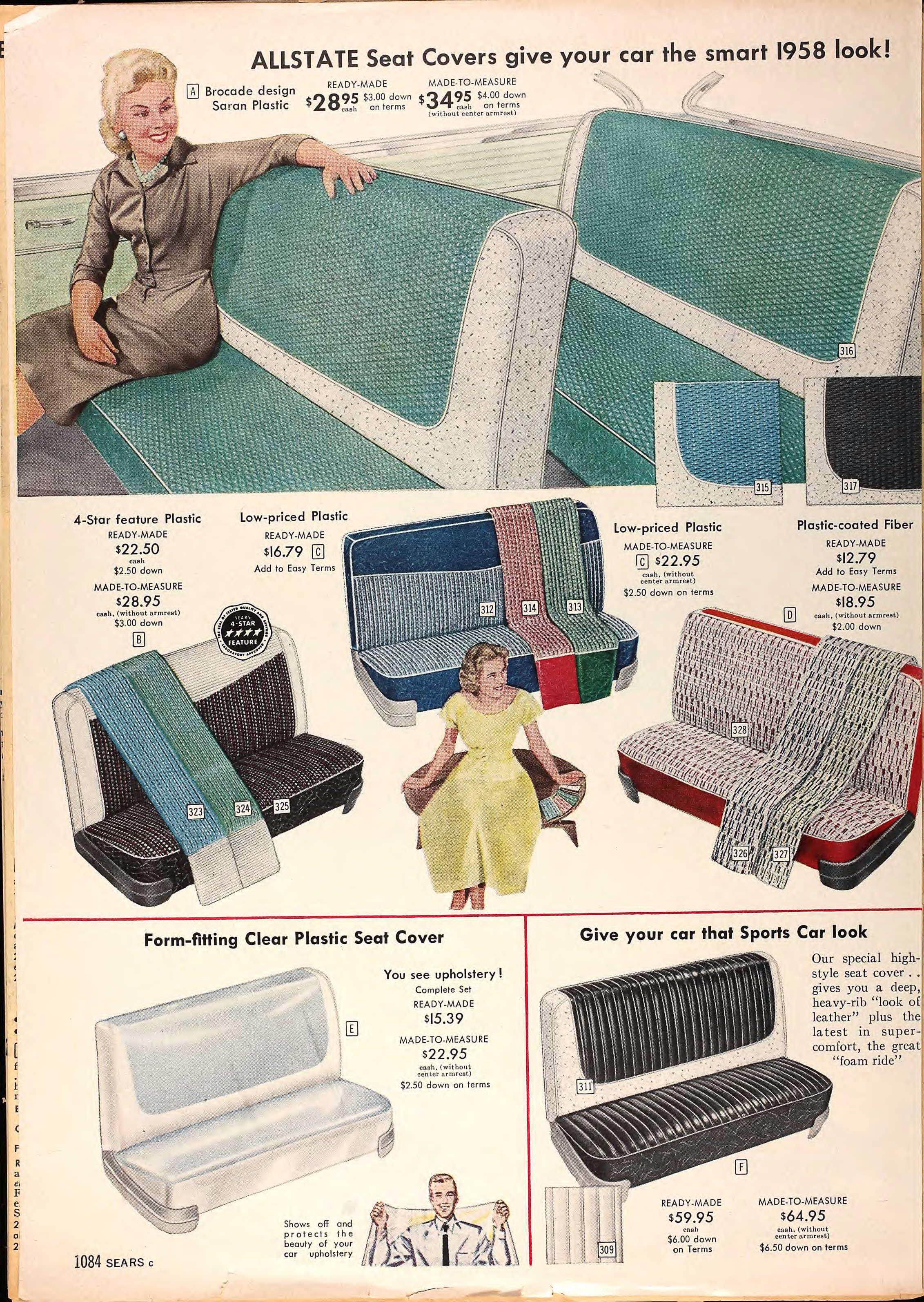 Vintage Catalog Scans Sears