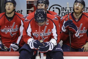 Alexander Ovechkin of the Washington Capitals