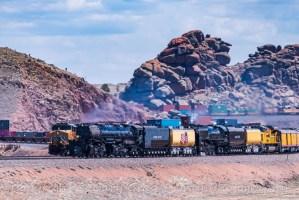 Union Pacific Railroad - Big Boy & Engine 844