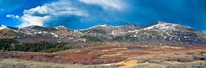 Guanella Pass View of Mt. Bierstadt, Colorado
