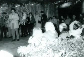 Yule Log Celebration 1960s