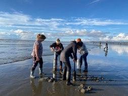 Washington coast clam digging (3)