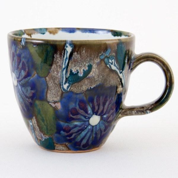 Blue Roses of Sharon Tavs Mug