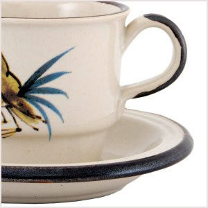 Ceramic Cups & Saucers
