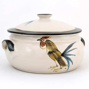 Cockerel Casserole Dish