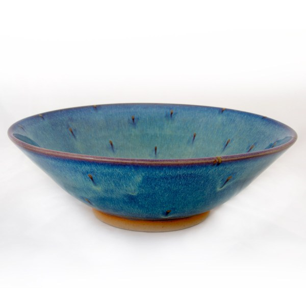 Forget Me Not Wide Bowl