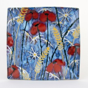 Hay Meadow Square Platter