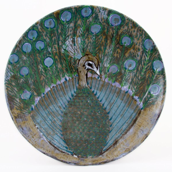 The Strutting Peacock