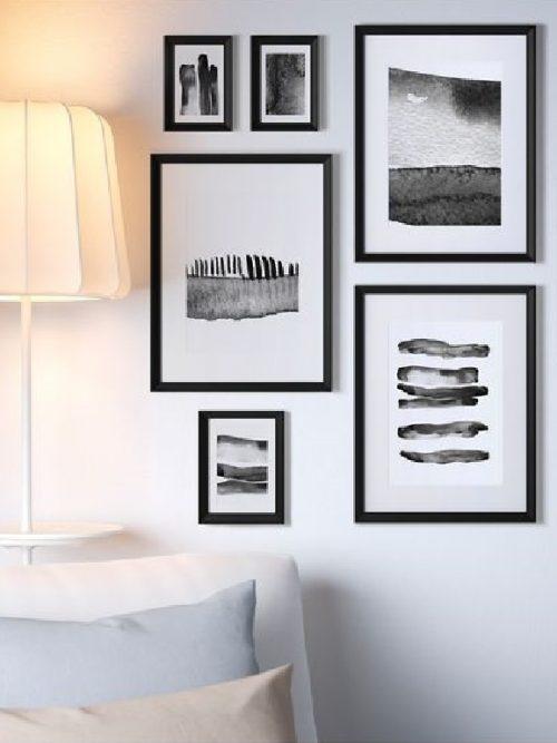 La sua forma sagomata pulita ed elegante la rendono perfetta per la camera da letto. 10 Idee Originali Per Decorare Le Pareti Di Casa Con Ikea Grazia It