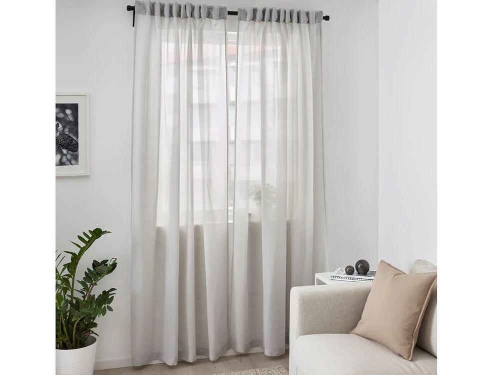 Tendaggi moderni per soggiorno, cucina e camera da letto. Tende Ikea 10 Idee Stanza Per Stanza