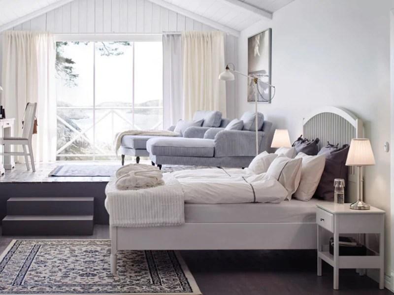Camera da letto e soggiorno, tutto in uno. Camera Da Letto Ikea 10 Idee Da Copiare Subito