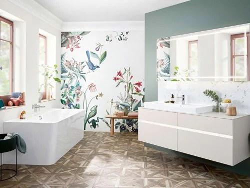 Visualizza altre idee su bagno, arredamento, bagni moderni. Arredare Un Bagno Moderno Con Un Lavabo Da Appoggio Grazia It