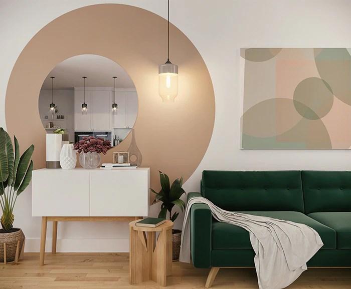 1 le stagioni ideali per dipingere le pareti di casa sono la primavera e l'estate. 8 Idee Originali Per Colorare Le Pareti Di Casa Da Copiare Subito Grazia It