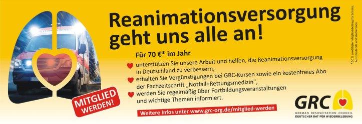 Mitglied werden Reanimationsversorgung geht uns alle an!