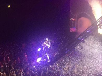 KISS in concert.