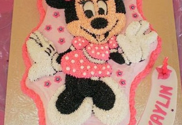 Coolest Minnie Mouse Birthday Cake Birthday Party Ideas