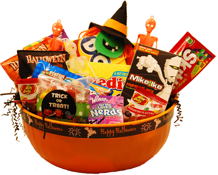 Create Your Own Halloween Gift Baskets Great Gift Ideas