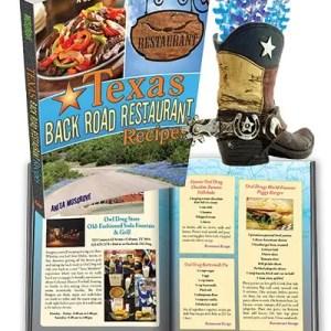 Texas Back Road Restaurant Recipes Cookbook