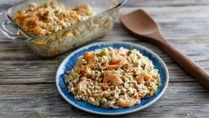 Mississippi Gulf Shrimp and Eggplant Casserole Recipe