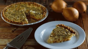 Easy Onion Cheese Pie