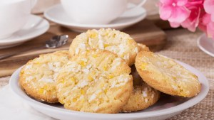 Crisp Lemon Cookies Recipe