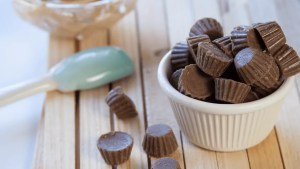 Reese's Mini Peanut Butter Cup Cookies Recipe