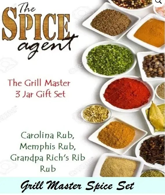 Grill Master Spice Set