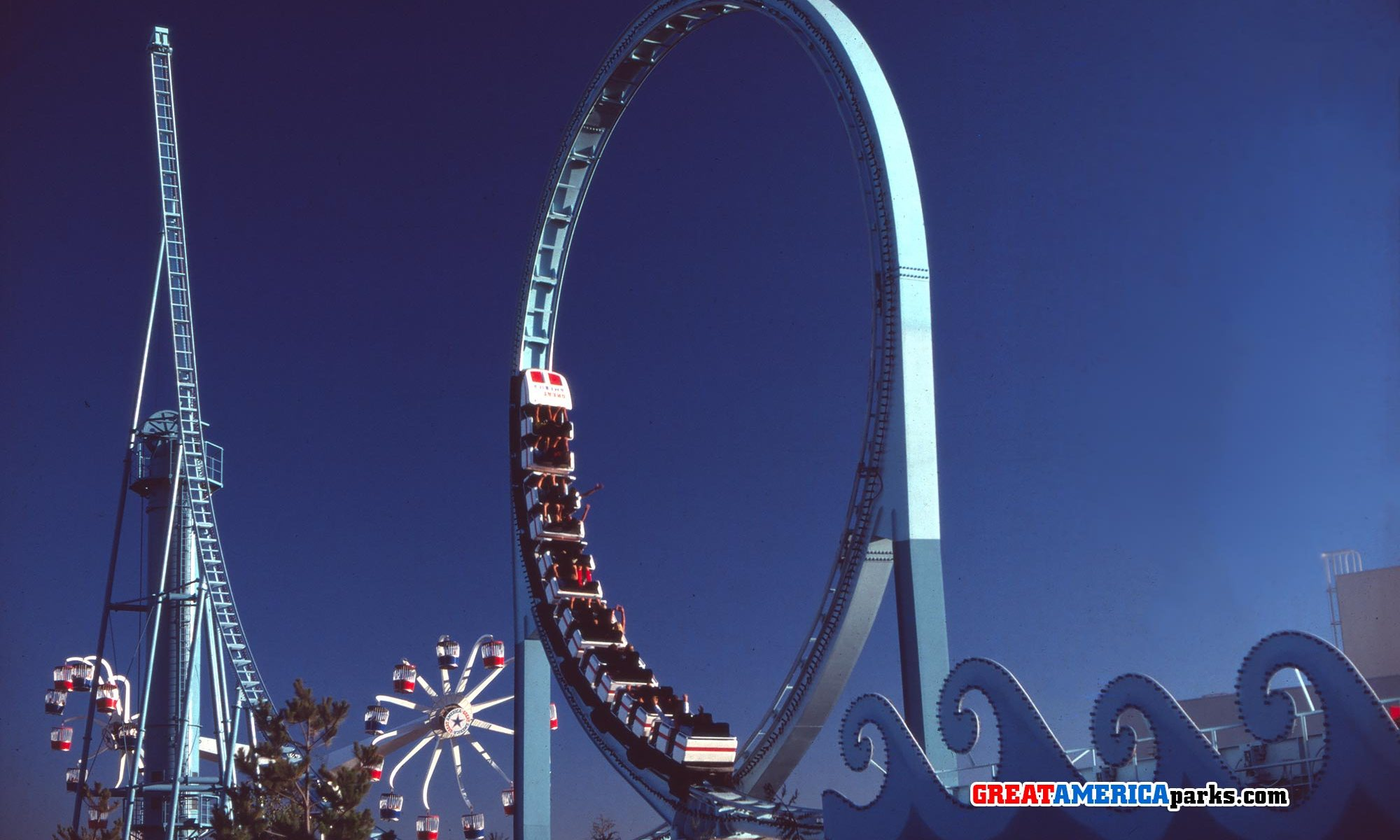 Marriott's Great America rides