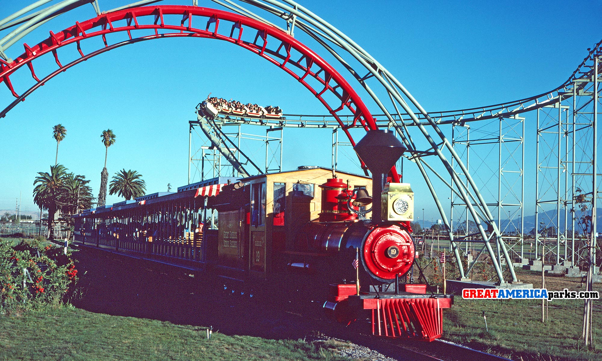 GREAT AMERICA Scenic Railway featured image